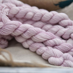 Brimham 4ply Mini Skein in Antique Rose (Lot 060319)