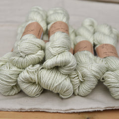 Askham Aran in Green Tea (Dyelot 210219)