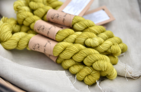 Brimham 4ply Mini Skein in Fern (Lot 060319)