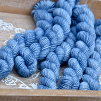 Brimham 4ply Mini Skein in Millpond (Lot 211019)