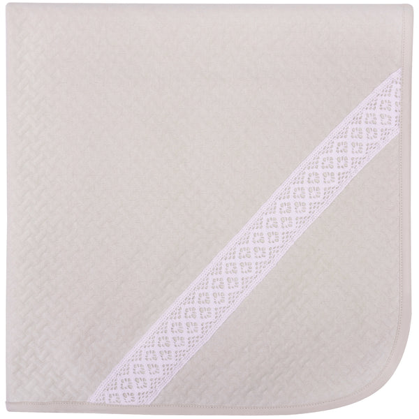 Bobble Babies Pima Cotton Blanket - Nude