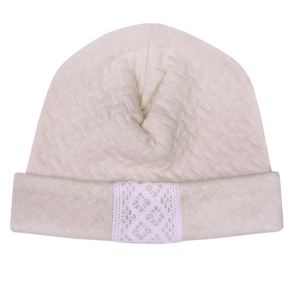 Bobble Babies Pima Cotton Baby Hat Nude