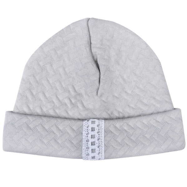 Bobble Babies Pima Cotton Baby Hat Grey
