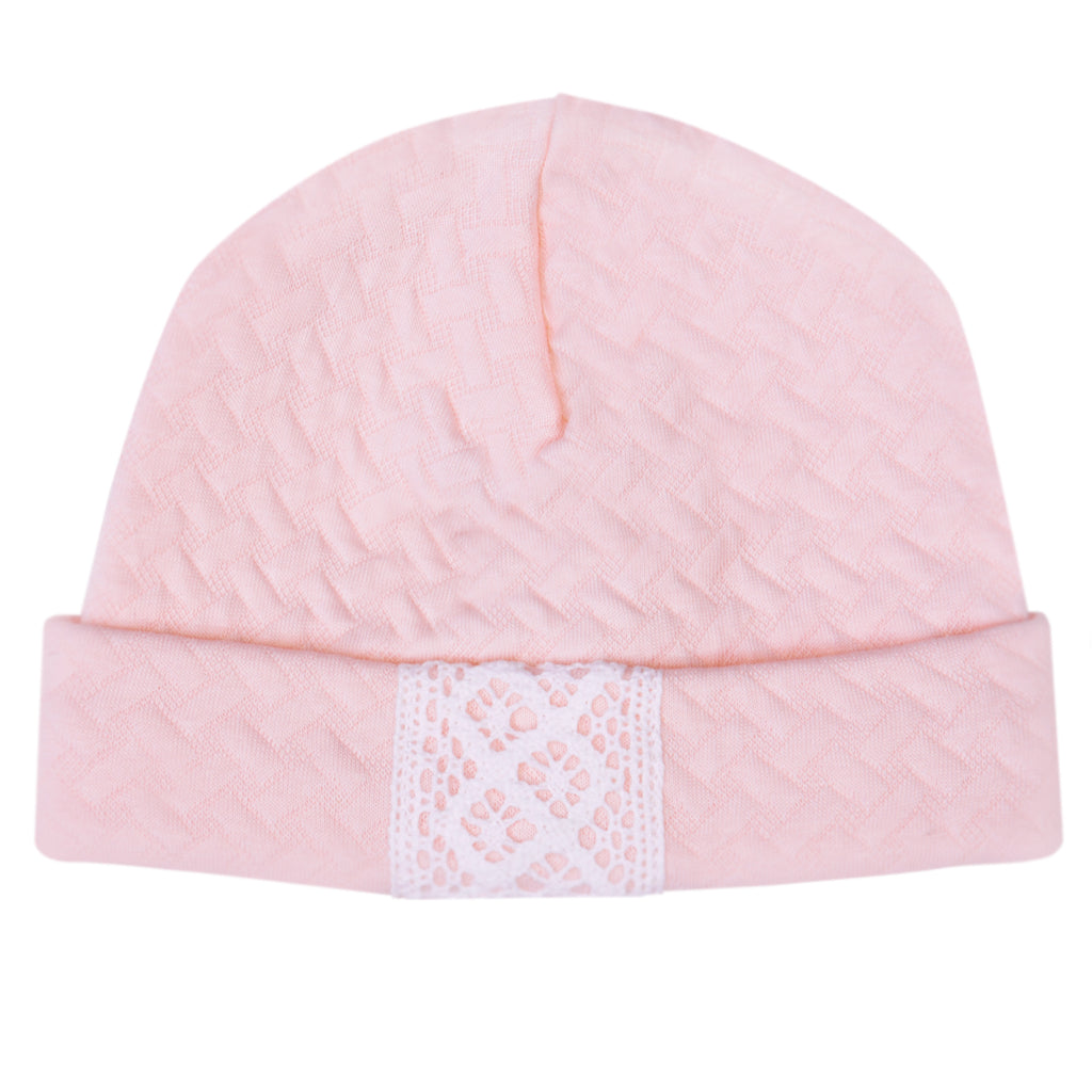 Bobble Babies Pima Cotton Baby Hat Pink