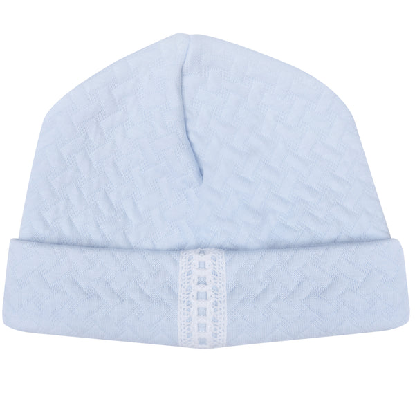 Bobble Babies Pima Cotton Baby Hat Blue