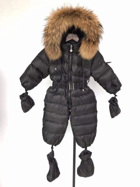Bobble Babies Snowsuit- Black