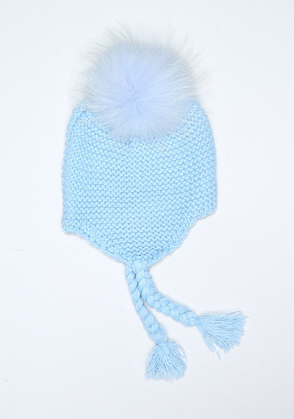 Baby Blue Bomber Hat
