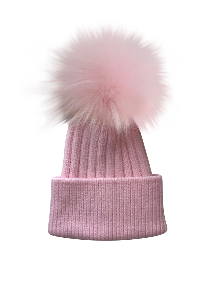 Luxe Angora Hat- BABY PINK