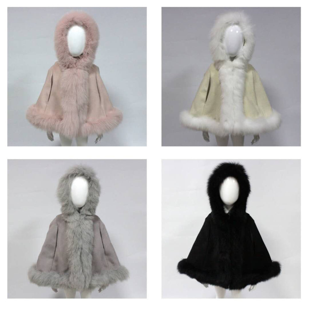 Bobble Babies girls cape
