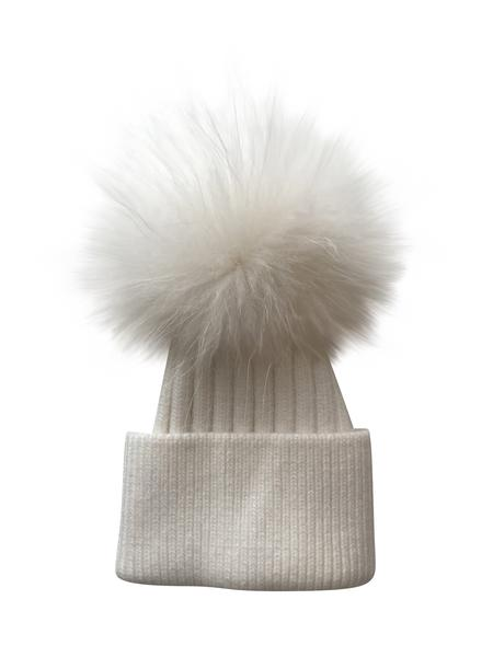 Luxe Angora hat- CREAM