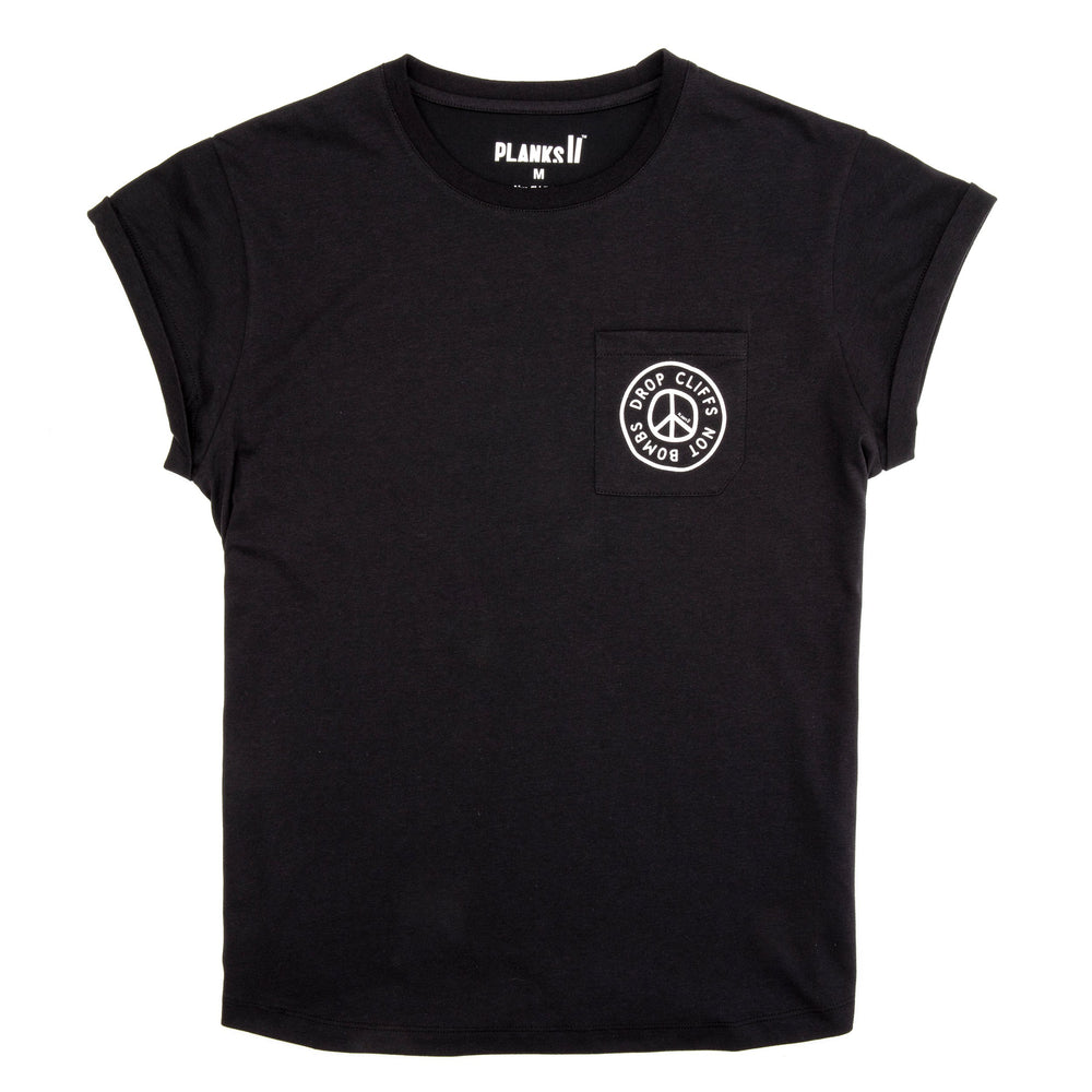 Women's Peace Relaxed Pocket T-shirt