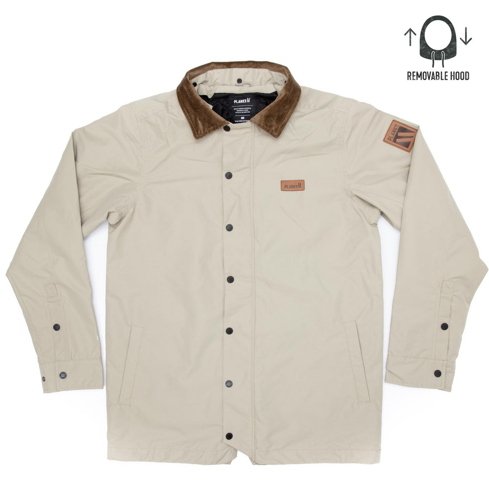 Men's Throw-down Collared Jacket