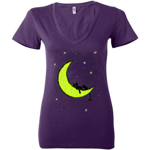 Cat Sleeping On The Moon T-Shirt - Our Exclusive Design
