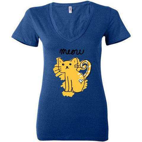 Simple Meow T-Shirt - Our Exclusive Design - Love Kitty Cat