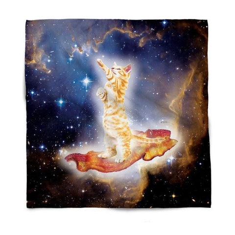 Bacon Cat All-Over-Print Bandana - Love Kitty Cat