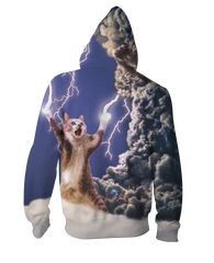 Thundercat All-Over-Print Zip-Up Hoodie - Love Kitty Cat