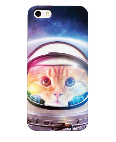 Space Cat All-Over Print Phone Case