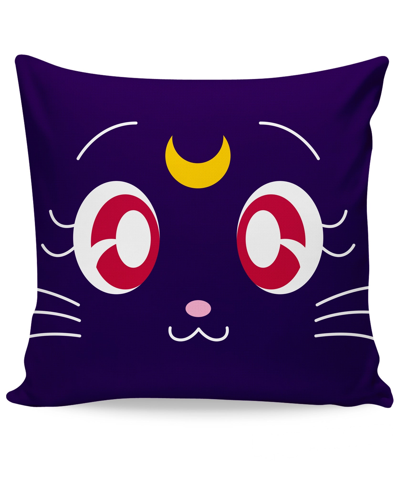 Sailor Moon Luna All-Over Print Couch Pillow - Love Kitty Cat