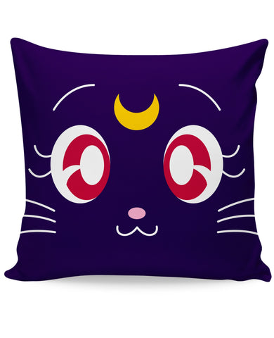 Sailor Moon Luna Couch Pillow - Love Kitty Cat