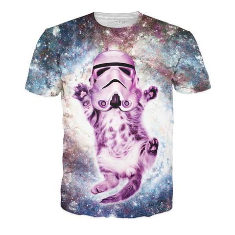 Cat Trooper All-Over Print Unisex Shirt