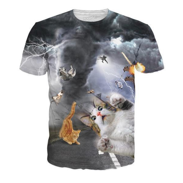 Catnado All-Over Print Unisex Shirt