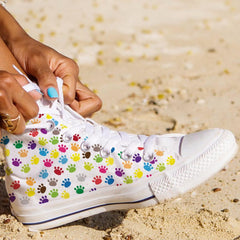 Colorful Cat Paws High Tops - Exclusive Limited Edition - Love Kitty Cat