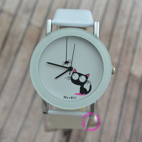 Cute Cat Fashion Watch - Love Kitty Cat
