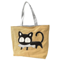 Cat Loves Fish Tote - Love Kitty Cat