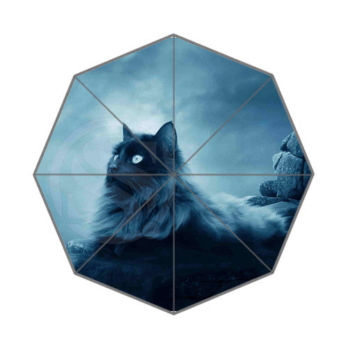 Lovely Cat All-Over-Print Umbrella - Love Kitty Cat