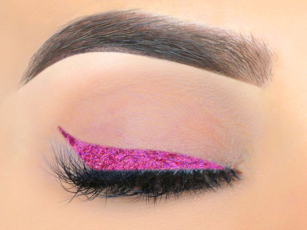 BAD KITTY Glitter Liquid Eyeliner- All Natural. Vegan Friendly.
