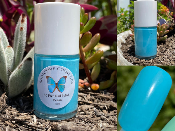 BELLA BLUE- 10 Free Nail Polish- Vegan Friendly, Cruelty Free