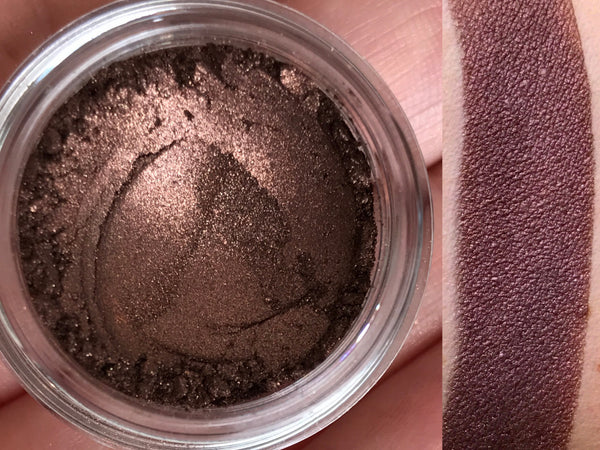 COFFEE BEAN Eyeshadow- All Natural, Vegan Friendly