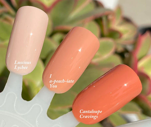 LUSCIOUS LYCHEE- 10 Free Nail Polish- Vegan Friendly, Cruelty Free