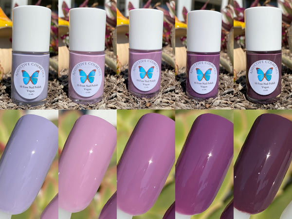 WILL YOU BERRY ME- 10 Free Nail Polish- Vegan Friendly, Cruelty Free