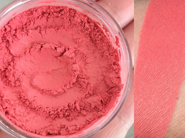 DOLLFACE- All Natural Mineral Blush Makeup- Vegan Friendly Cosmetics