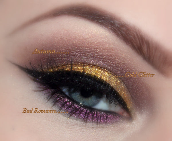 GET THIS LOOK! All Natural Eyeshadow and Eyeliner Makeup. Vegan