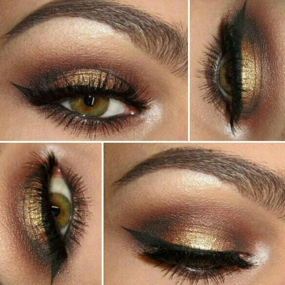 SEDUCTION- Get this look! All Natural, Vegan Eyeshadow and Eyeliner Makeup