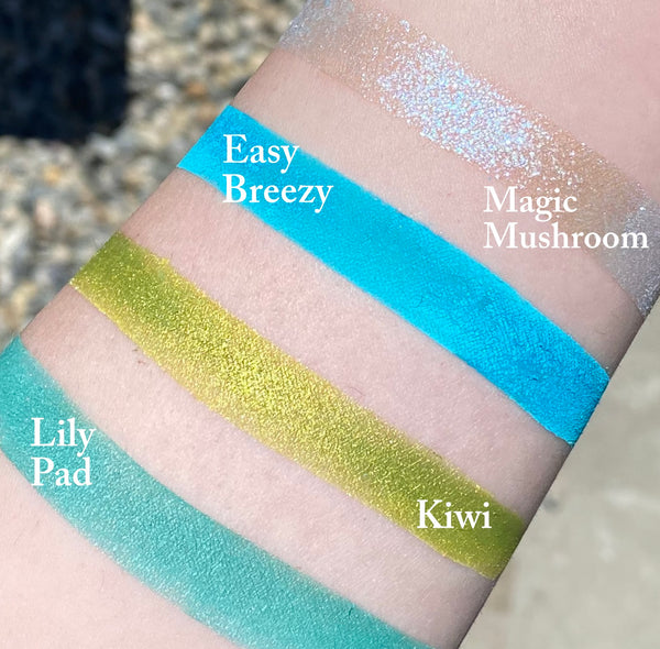 EASY BREEZY- Mineral Eyeshadow and Eyeliner Mineral Makeup- Vegan Friendly
