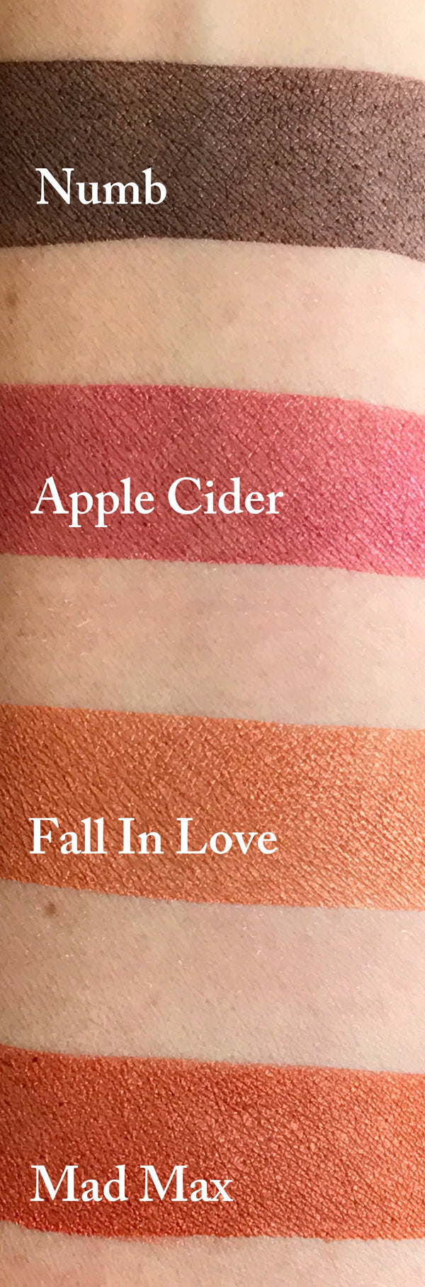 APPLE CIDER- All Natural, Vegan Friendly Eyeshadow and Eyeliner Makeup