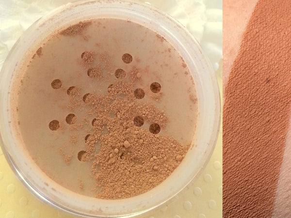 FLAT MATTE BRONZER and CONTOUR Powder- All Natural, Vegan Friendly Cosmetics
