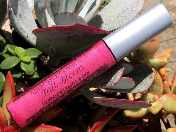 FULL BLOOM All Natural Liquid Lipstick- Vegan Friendly