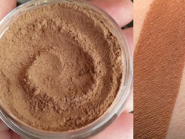 GINGER SNAP- Blush and Contour Powder- All Natural Blush Makeup, Vegan