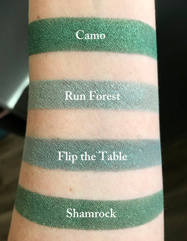 SHAMROCK- Vegan Friendly Eyeshadow and Eyeliner