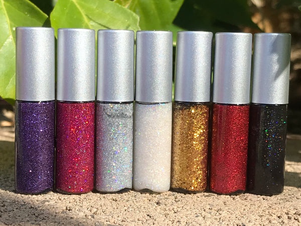 JEM Glitter Liquid Eyeliner- All Natural. Vegan Friendly.