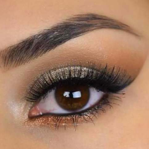 SIZZLE- Get this look! Natural, Vegan Eyeshadow and Eyeliner Makeup. Includes Cosmetic Glitter.