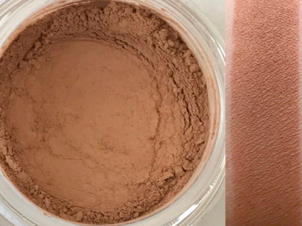MOCHA- Matte Eyeshadow- All Natural, Vegan Friendly Eyeshadow and Eyeliner Makeup