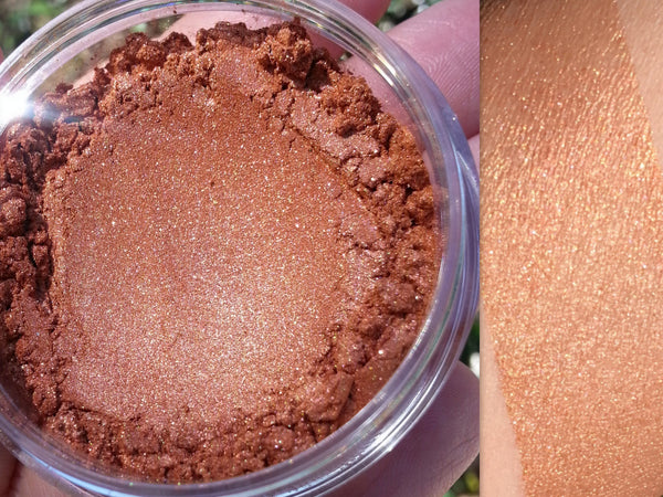 MOJAVE Mineral Highlighting Blush and Bronzer- All Natural, Vegan Friendly- 20 gram full jar- Organic Blush, Vegan Blush