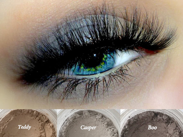 DRIFTER Trio- Get This Look! All Natural, Vegan Eyeshadow and Eyeliner Makeup. Cruelty Free Cosmetics.