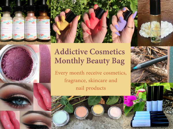 MONTHLY BEAUTY BAG with Free Shipping- Great gift idea!