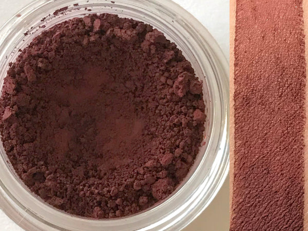 MULLED WINE Matte Eyeshadow- All Natural, Vegan Friendly Eyeshadow and Eyeliner Makeup